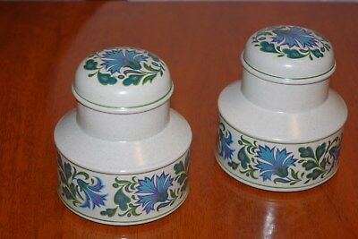 Caprice Stoneware  Storage Jars with lids
