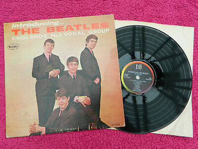 The Beatles Usa Lp Introducing The Beatles Vee Jay Label