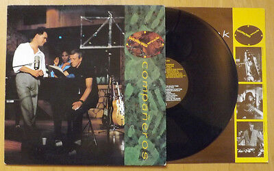 Working Week - Companeros vinyl LP (1986) UK Virgin V2397