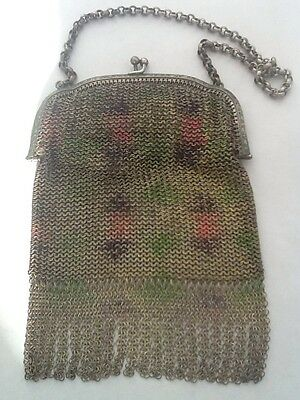 Vintage Art Deco 1930's Mesh Evening Purse