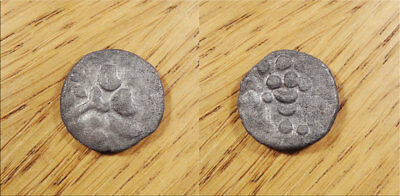 Durotriges Silver Unit Celtic Stater Circa 1st century BC 2.7g Early British AR