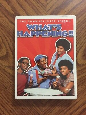 Whats Happening - The Complete First Season (DVD, 2004, 3-Disc Set) NEW #MD