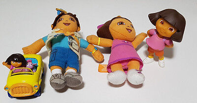 Dora The Explorer Toys Cars Diego 7-12Cm Tall