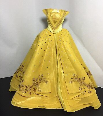 "2017 Disney Store LE Limited Edition Emma Watson Belle 17"" Doll Dress and Shoes"