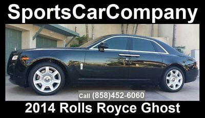 2014 Bentley Ghost Luxury 5 Place Sedan 2014 ROLLS ROYCE GHOST BLACK BEAUTY STUNNING INSIDE & OUT CALL TODAY! $159,998!