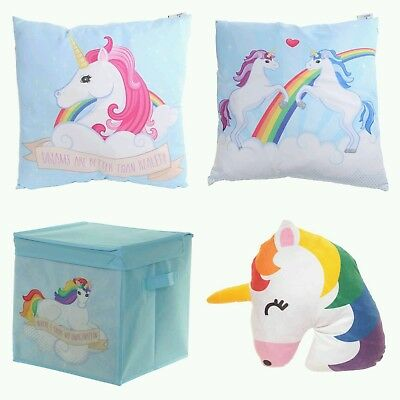 Children Bedroom Cushions Baby Unicorn Print 4-Item Christmas Baby Gift