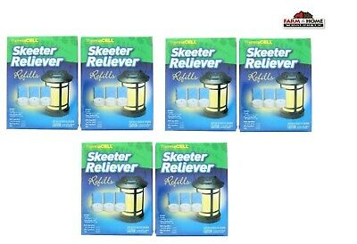 6 ThermaCELL Skeeter Reliever Refill Packs ~ New