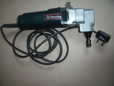 Metabo metal nibbler 6875 240 volt 550w 3000rpm 2mm cutting..German made..