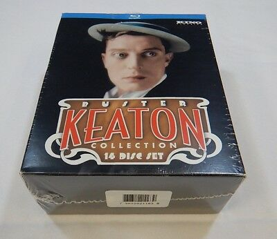 The Ultimate Buster Keaton Collection Blu-ray 14 disc box set NEW / SEALED! RC