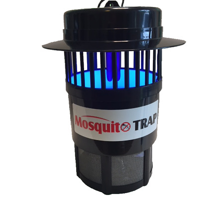 New Mossie Trap Mozzie Killer Mosquito Insect Zapper UV Light LED Pest Control