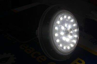 JANDY JLUW10 white NICHELESS LED LIGHT 12V 10W SHORT 1 ft CORD AS-IS FREE SHIP