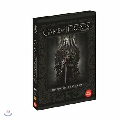 Game of Thrones: The Complete First Season 1st  Brand New 2015, 4-Disc Set)