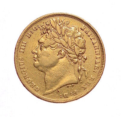 1822 Sovereign George Iv  #1143