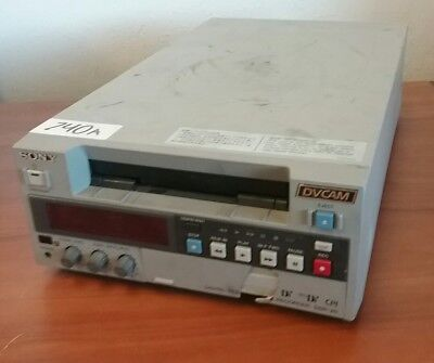 Sony DSR-20 Digital DVCAM Digital Video/Cassette Recorder #740A