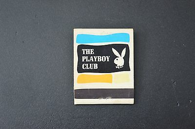 Vintage 60/70'S Playboy Club Matches Matchbook Montreal Unstruck