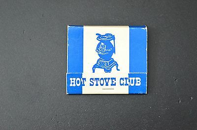 MAPLE LEAF GARDENS HOT STOVE CLUB VINTAGE  Matches Matchbook UNSTRUCK