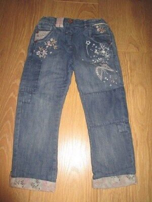 Next girls denim jeans. New. Age 4-5 years old.