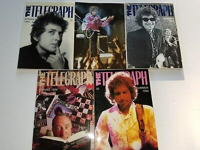 BOB DYLAN LOT OF 5  rare Telegraph books, all in very good condition. Ships fast
