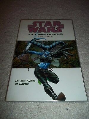 Star Wales Clone Wars Volume 6 On The Fields of Battle Graphic Novel TPB, 2005