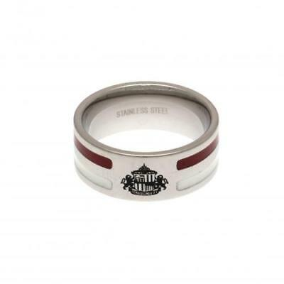 Official Football Sunderland A.F.C. Colour Stripe Ring Small Xmas Gift