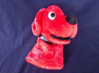 CLIFFORD THE BIG RED DOG Plush Hand Puppet 12 Inches