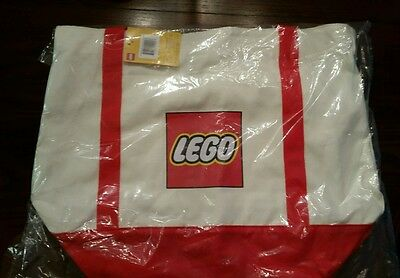 LEGO Exclusive Canvas Tote Bag ($199 Purchase Gift) *In-hand* HTF Promo 5005326