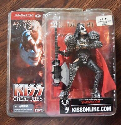 Gene Simmons Action Figure The Demon McFarlane 2002 Kiss Creatures