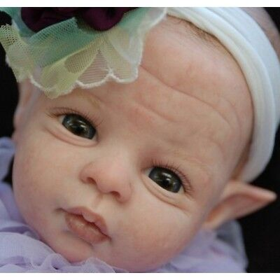 Violet Fairy by Shawna Clymer Reborn Fairy Baby Doll Kit @LE 400 @20""