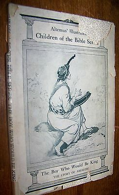 1905 Antique Childrens Bible Study Book Story Of Absalom Davids Son Childs