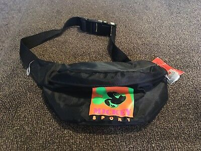 Vintage Disney Mickey Mouse American Sport Fanny Pack Waist Bag NWT youth kids