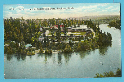"Baseball PC: Natatorium Park; Spokane ""Indians"" Pacific Northwest League - 1910s"