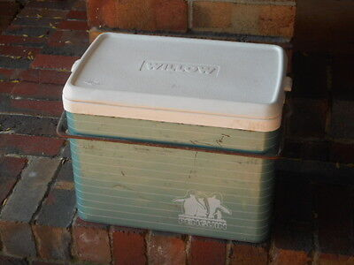 Willow Penguin Collector steel Cooler ice chest to suit collector vehical