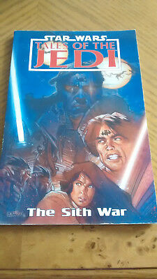 Star Wars Tales of the Jedi The Sith War TPB - Good Condition!