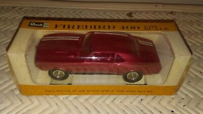 1/32 Scale 1968 Firebird 400 Slot Car By Revell. New Old Stock New In Box.