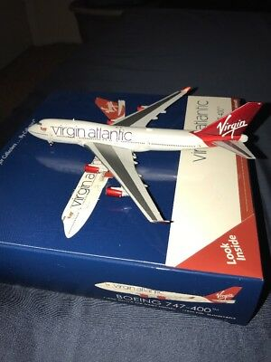 Virgin Atlantic Boeing 747-400 Gemini Jets 1:400