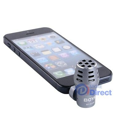 BOYA BY-A100 OmniDirectional Mic Microphone Gopro for iPhone/DSLR/tablets AU