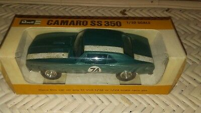 1/32 Scale Revell 1968 Camaro Ss 350. New Old Stock. New In Box