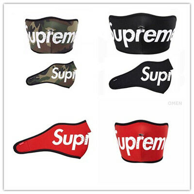 HOT /Supreme Mask Face Protection for Skiing Outdoor Sport
