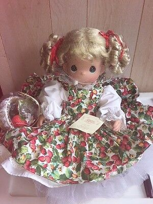 Precious Moments Doll BERRY SWEET PICK OF THE CROP -