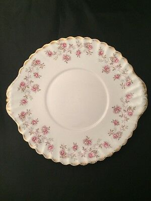 Queen Anne Harmony Rose Plate Biscuit Sandwich Roses