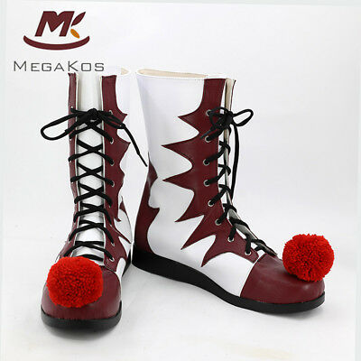 Pennywise Stiefel Cosplay Schuhe Stephen King's IT Horror Clown Killer Karneval