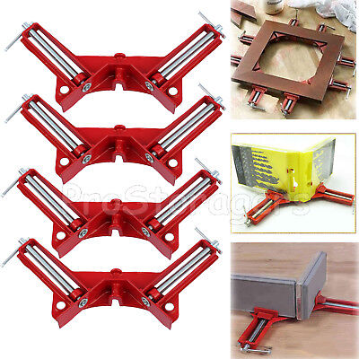 4PCS 90 Degree Right Angle Miter Picture Frame Corner Clamp Woodworking Holder