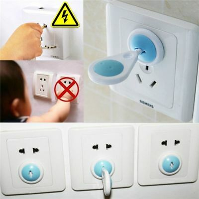 6PCS Socket Protector Baby Safety Product Outlet Plug Cover Home Decoration