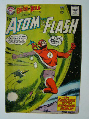 Brave and the Bold #53 Atom & The Flash Alex Toth Art 1964 VG