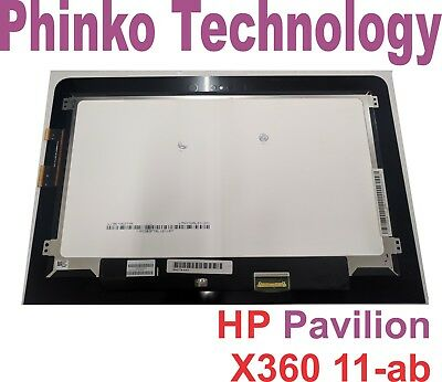 "NEW HP Pavilion X360 11-AB 11.6"" Touch Digitizer Screen Assembly LTN116AL01-301"