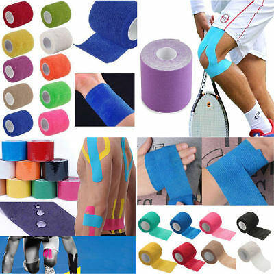 5M*5CM Kinesiology Tape Athletic Muscle Support Sport Physio Therapeutic Tape EN