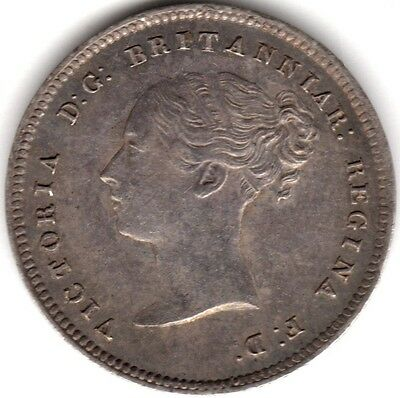 1861 Victoria Silver Fourpence/Groat***Collectors***