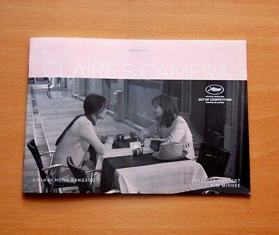 CLAIRE'S CAMERA Official Presskit Cannes 2017 Isabelle Huppert Kim Minhee