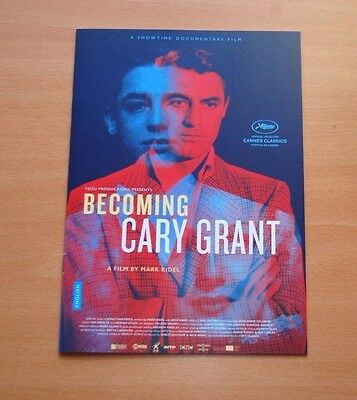 BECOMING CARY GRANT Official Presskit Cannes Film Festival 2017 Showtime
