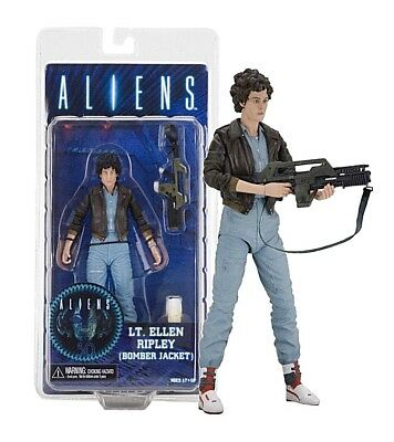 Alien Action Figure Personaggio Ellen Ripley Bomber Jacket 15 Cm Neca